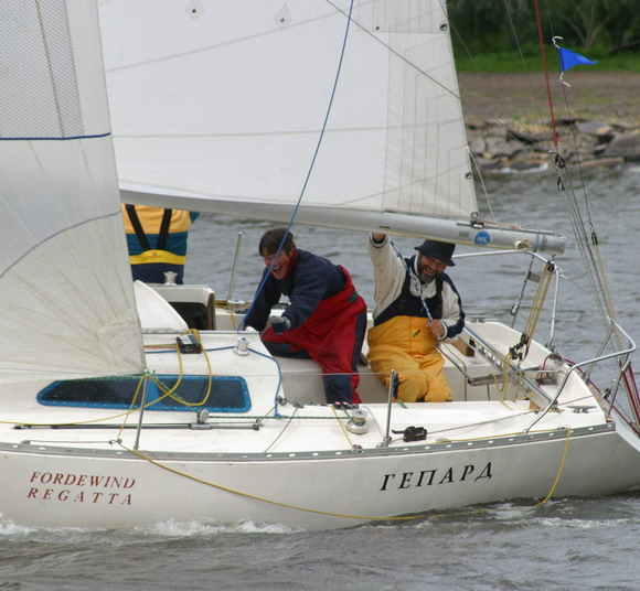 Яхта Гепард