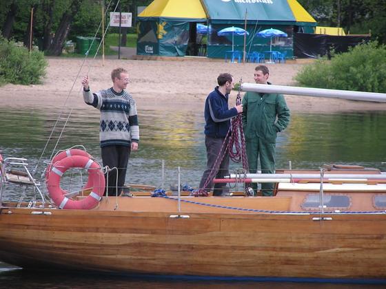 Яхта Луга